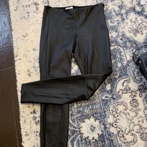 Nordstrom brand lamb skin leather pants